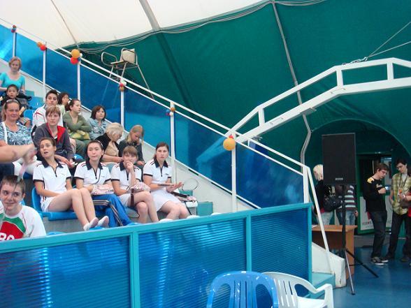 Команда КССК на Спортивном юношеском фестивале. Москва. Июль 2008