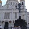 Команда КССК у храма Христа Спасителя. Москва. Июль 2008