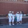 Команда КССК у стен Кремля. Москва. Июль 2008