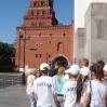 Команда КССК на экскурсии в Кремле. Июль 2008
