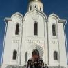 Участники конференции соотечественников, проживающих в странах АТР у православного храма. Улан-Батор. Сентябрь 2008