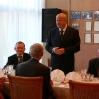 Конференция соотечественников, проживающих в странах АТР. Прием от имени Посла России в Монголии Б. Говорина (в центре). Сентябрь 2008