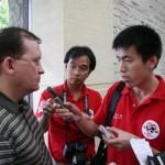 Интервью китайским журналистам