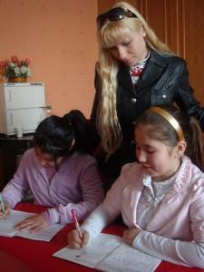 Ученики. Русская школа в Урумчи