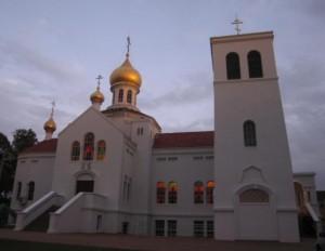 Свято-Покровский храм. Кабраматта, Сидней, Австралия