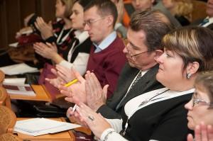 Выступление М. В. Дроздова на III Ассамблее Русского мира
