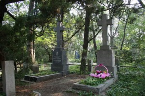 Кладбище в Порт-Артуре