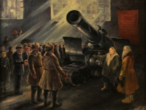 Луцкая Е.В.«Подарок фронту»
